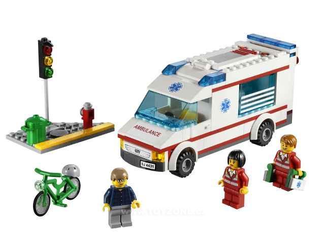 Лего 60002 Пожарная Машина Инструкция